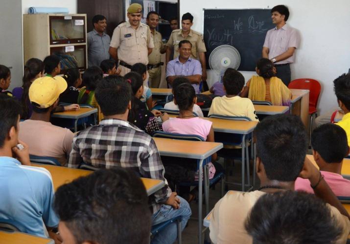 Session taken by Delhi Police